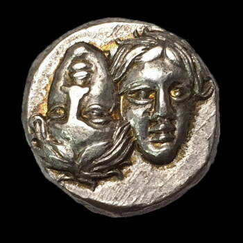 Ókori görög ezüst érme - Istros ezüst drachma