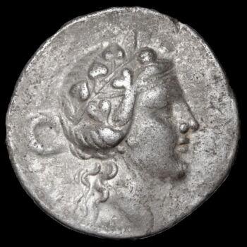Ókori görög ezüst érme - Thassos ezüst tetradrachma
