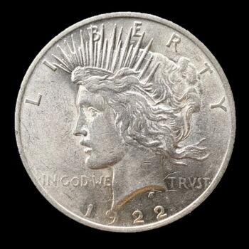 1 Dollár 1922 - Peace Dollar