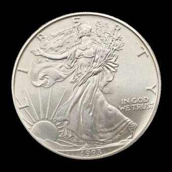 1 Dollár 1993 Walking Liberty