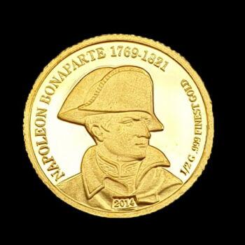 A világ legkisebb aranyérméi - 100 Frank
