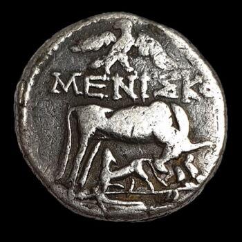Dyrrachium (Illyria) ókori ezüst drachma