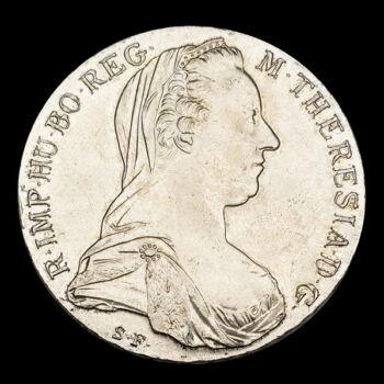Mária Terézia tallér utánveret 1780 SF