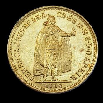 10 Korona 1912 KB Ferenc József
