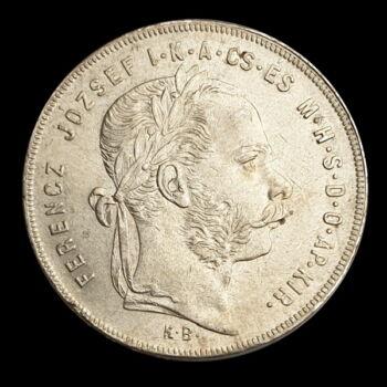 Ezüst 1 Forint 1879 KB Ferenc József
