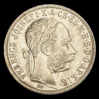 Ezüst 1 Forint 1888 KB Ferenc József