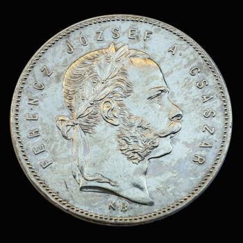 Ferenc József 1 Forint 1869 KB