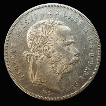 Ferenc József 1 Forint 1878 KB
