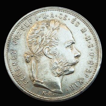 Ferenc József 1 Forint 1881 KB