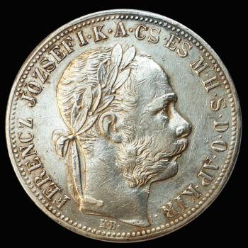 Ferenc József 1 Forint 1885 KB