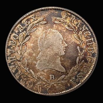 I. Ferenc 20 Krajcár 1802 B