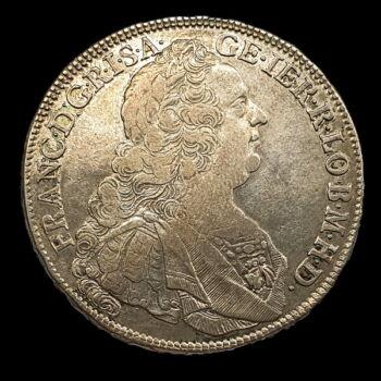 Lotharingiai Ferenc ezüst tallér 1761 KB