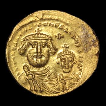 Heraclius és Heraclius Constantine (Kr.u. 610-641) - Bizánci arany solidus