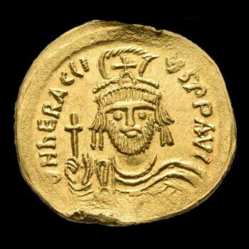 Heraclius bizánci császár  (Kr.u. 610-641) -  Arany solidus