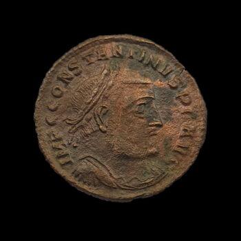 I. Constantinus római császár - bronz follis