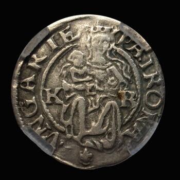 I. Ferdinánd magyar király (1526-1564) ezüst denár 1538