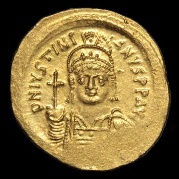 I. Iusztinianosz bizánci császár (Kr.u.527-565) - Arany solidus