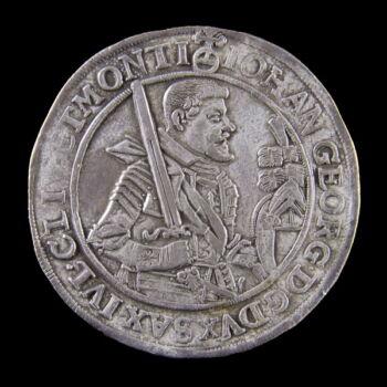 I. János György ezüst tallér 1626