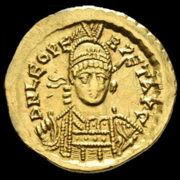 I. León bizánci császár (Kr.u. 457-474) - Arany solidus
