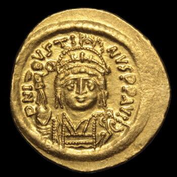 II. Iusztinosz bizánci császár (Kr.u. 567-578) - Arany solidus
