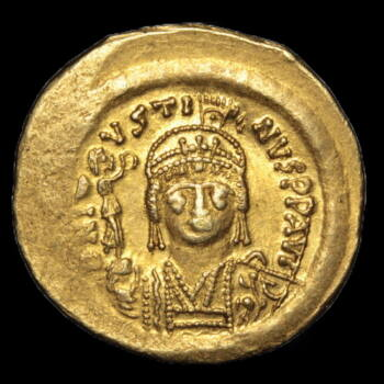 II. Iusztinosz bizánci császár - Arany solidus