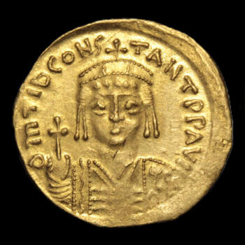 II. Tiberius Constantine bizánci császár (Kr. u. 578-582) - Arany solidus