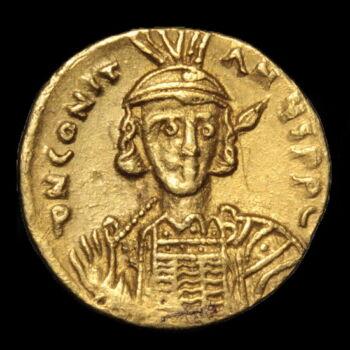 IV. Constantine bizánci császár (Kr.u. 668-685) - Arany solidus