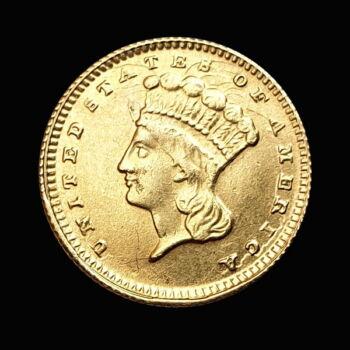 1 Dollár 1856 arany érme