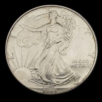 Ezüst Liberty 1 Dollar 1994
