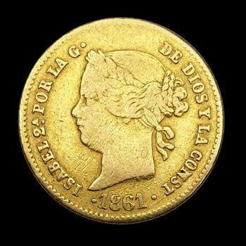 2 Pesos 1861 Fülöp-szigetek