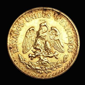 2 Pesos 1945 arany érme