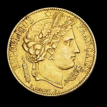 20 Frank 1850 A francia arany érme