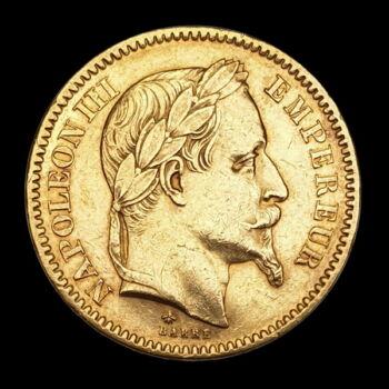 20 Frank 1866 A III. Napóleon