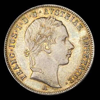 20 Krajcár 1854 A Ferenc József