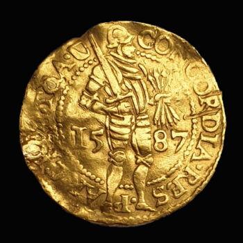 Dukát Utrecht 1587