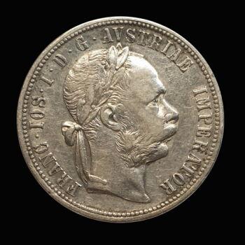 Ferenc József 1 Florin 1879 Bécs