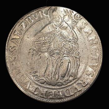 Wolf Dietrich Von Raitenau salzburgi érsek ezüst tallér