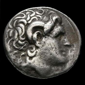 Lysimachos makedón király ezüst tetradrachma