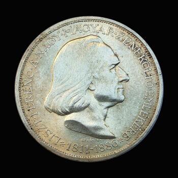 2 Pengő 1936 Liszt Ferenc