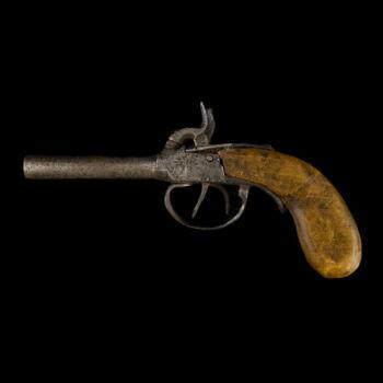 Revolver duplacsövű (hatástalanított)