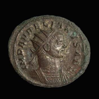 Aurelianus római császár antoninianus - ORIENS AVG
