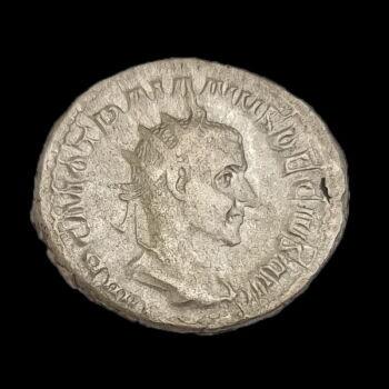 Decius római császár (Kr.u. 249-251) ezüst antoninianus - PANNONIAE