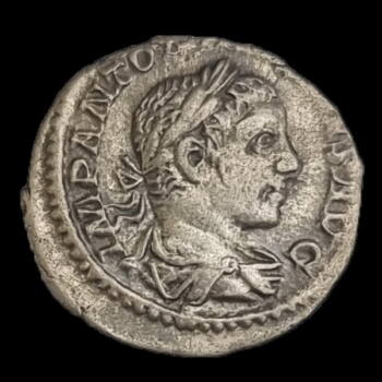 Elagabalus római császár (Kr.u. 218-222) ezüst denár - ABVNDANTIA AVG