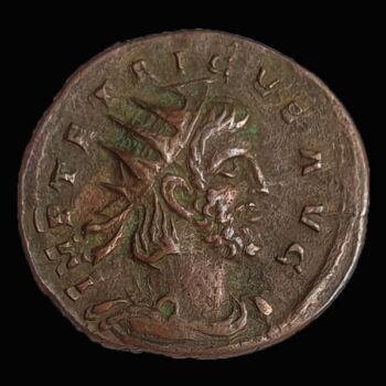 I. Tetricus gall császár antoninianus - FIDES MILITVM