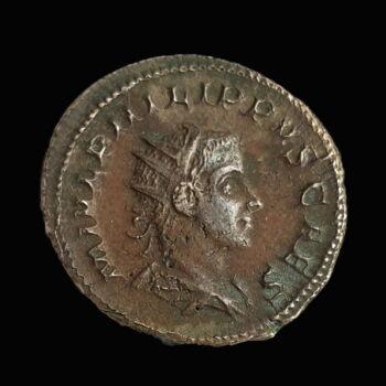 II. Philippus római császár antoninianus - PRINCIPI IVVENT