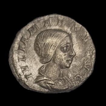 Julia Maesa (Kr.u. 218-224) ezüst denár - PVDICITIA