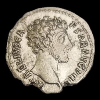 Marcus Aurelius római császár (Kr.u. 161-180) ezüst denár - TR POT III COS II