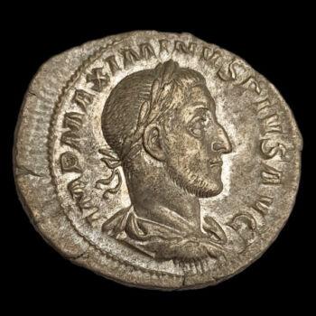 Maximinus Thrax római császár (Kr.u. 235-238) ezüst denár - SALVS AVGVSTI
