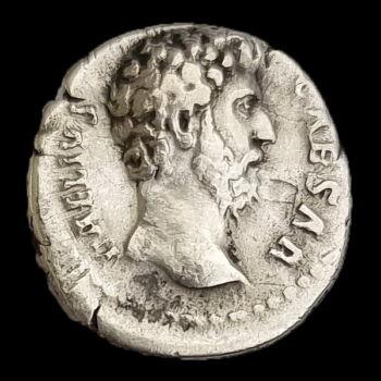 Római Birodalom Aelius ezüst denár