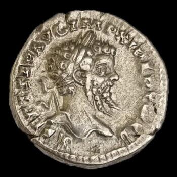 Septimius Severus római császár (Kr.u. 193-211) ezüst denár - COS II P P